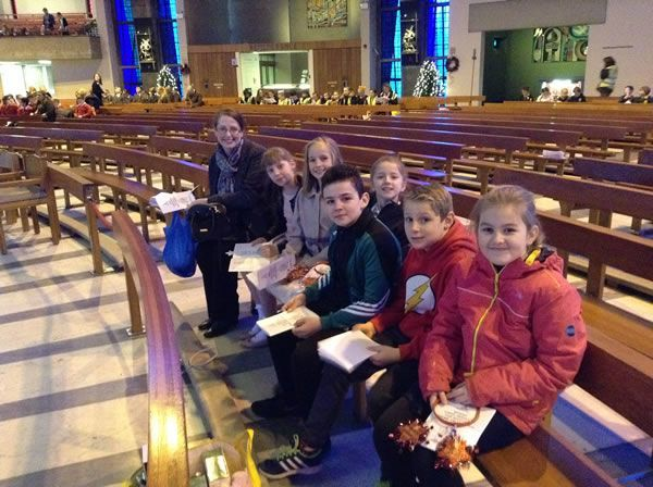 Advent Service Metropolitan Cathedral of Christ the King Liverpool - December 2017 2