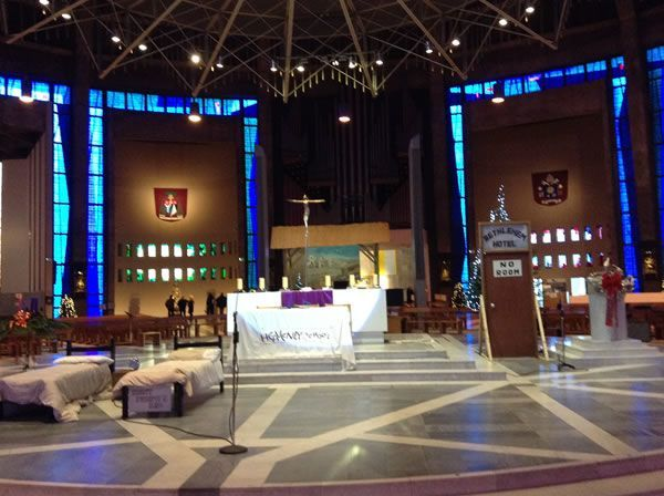 Advent Service Metropolitan Cathedral of Christ the King Liverpool - December 2017 3