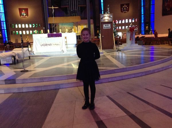 Advent Service Metropolitan Cathedral of Christ the King Liverpool - December 2017 6
