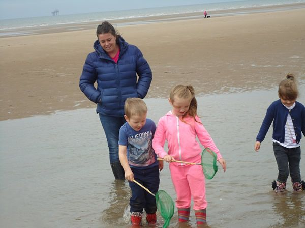 Reception Class visit to Formby Beach - July 2017 12