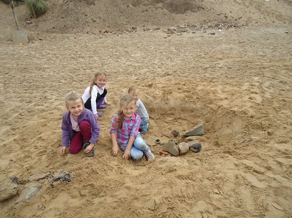 Reception Class visit to Formby Beach - July 2017 13
