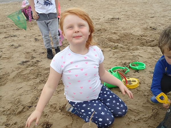 Reception Class visit to Formby Beach - July 2017 16