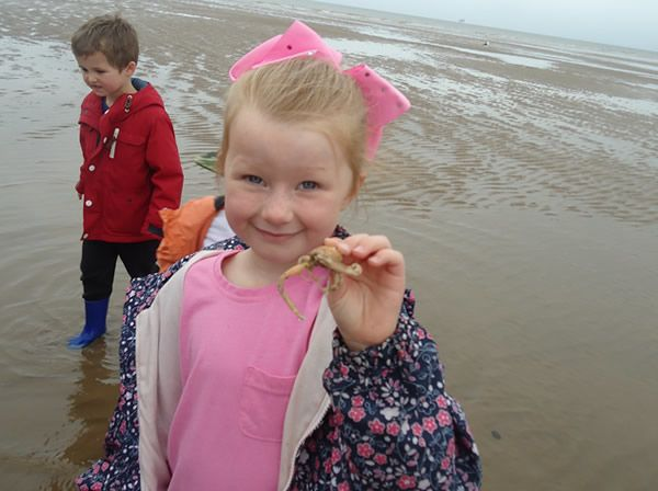 Reception Class visit to Formby Beach - July 2017 3