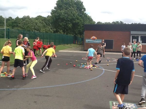 Whole School Sports Day - July 2016 3