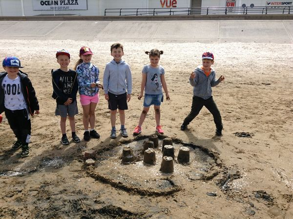 Year 2 visited Southport beach - July 2019 1