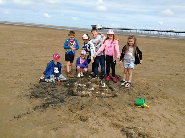 Year 2 visited Southport beach - July 2019 2