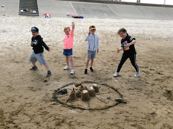 Year 2 visited Southport beach - July 2019 3