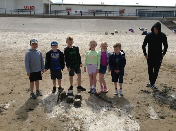 Year 2 visited Southport beach - July 2019 5