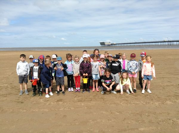 Year 2 visited Southport beach - July 2019 6