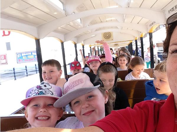 Year 2 visited Southport beach - July 2019 7