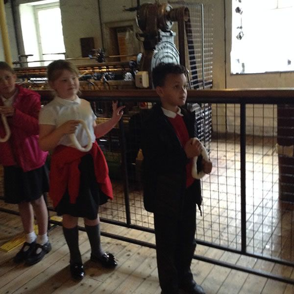 Year 3 visit Quarry Bank Mill - May 2019 8