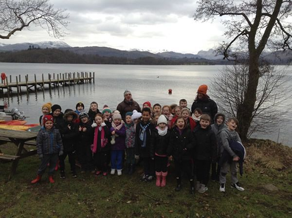 Year 3 visited Brockhole in the Lake District 5