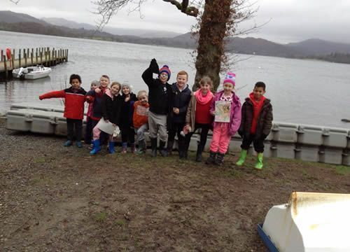 Year 3 visited the Lake District 5