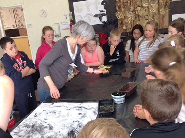 Year 5 Art Residential to Tatton hall - June 2017