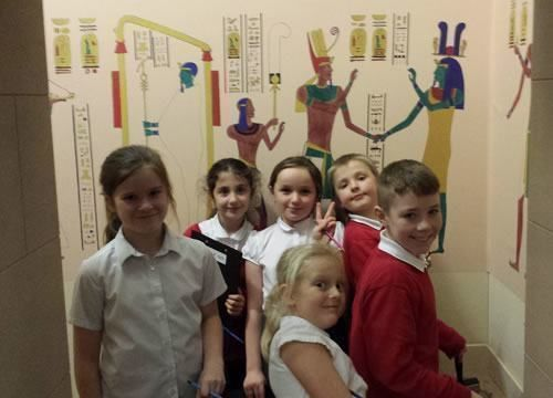Year 5 visited Wigan Life Museum  1
