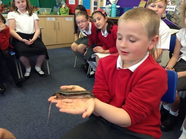 Year 6 had some special visitors - September 2016 6