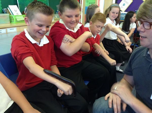 Year 6 had some special visitors - September 2016 8