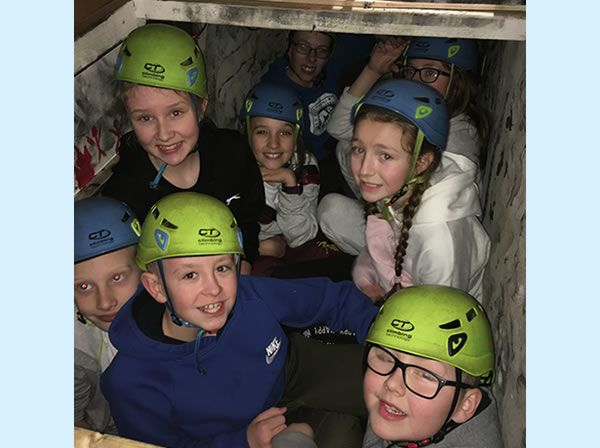 Year 6 residential trip to Robin Wood - January 2019 1