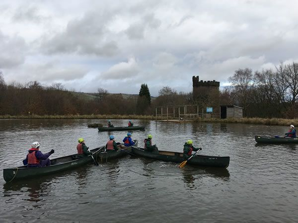 Year 6 residential trip to Robin Wood - January 2019 10
