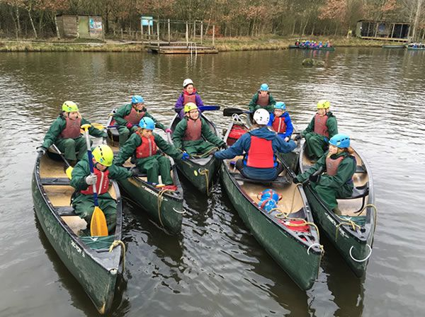 Year 6 residential trip to Robin Wood - January 2019 11