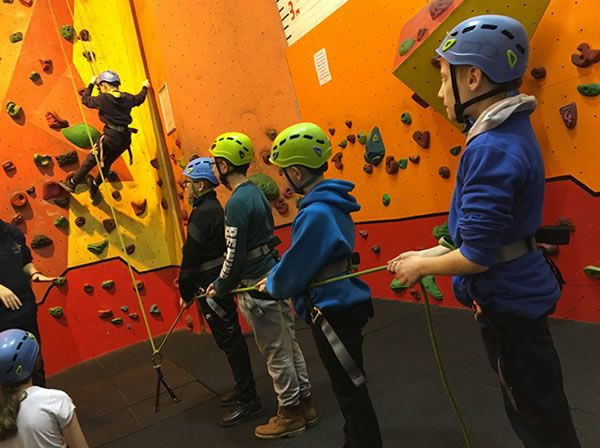 Year 6 residential trip to Robin Wood - January 2019 12