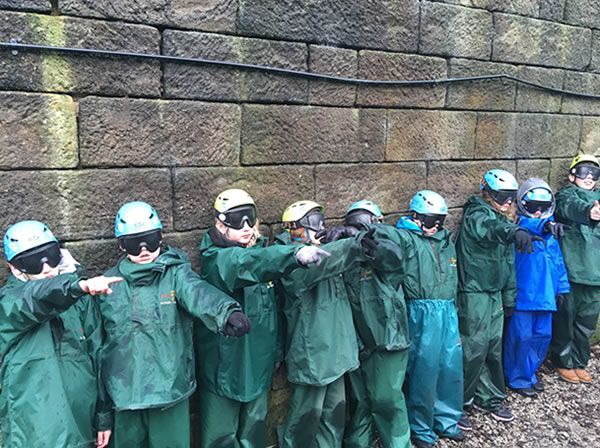 Year 6 residential trip to Robin Wood - January 2019 14