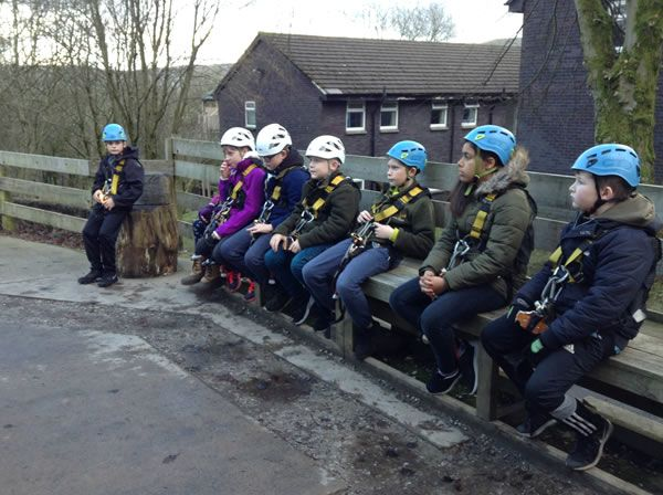 Year 6 residential trip to Robin Wood - January 2019 17
