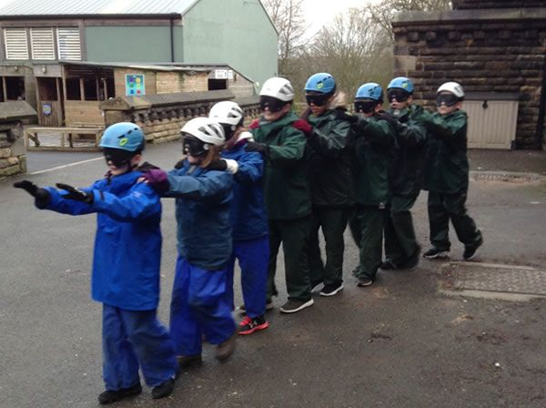 Year 6 residential trip to Robin Wood - January 2019 18