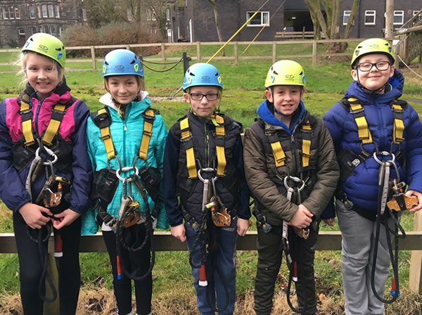 Year 6 residential trip to Robin Wood - January 2019 2