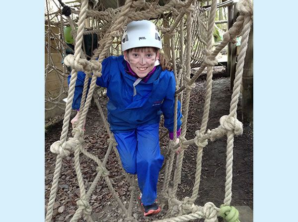 Year 6 residential trip to Robin Wood - January 2019 22