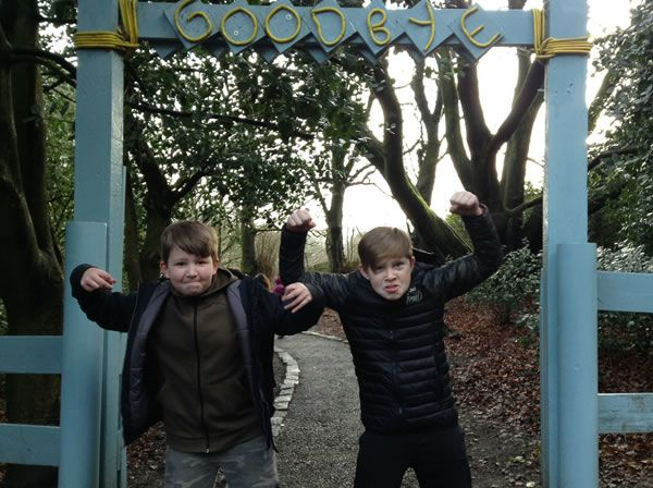 Year 6 residential trip to Robin Wood - January 2019 29