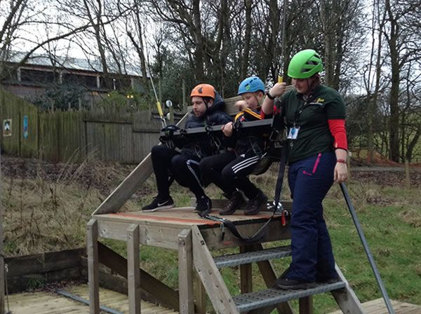 Year 6 residential trip to Robin Wood - January 2019 33