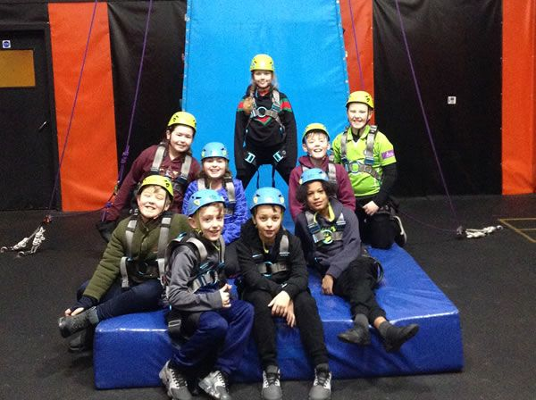 Year 6 residential trip to Robin Wood - January 2019 36