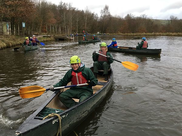 Year 6 residential trip to Robin Wood - January 2019 9