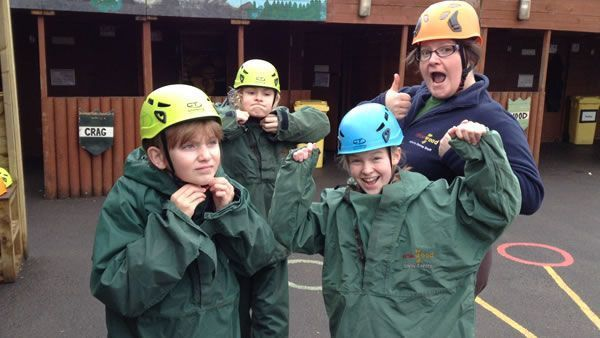 Year 6's residential trip to the Robin Wood centre 10