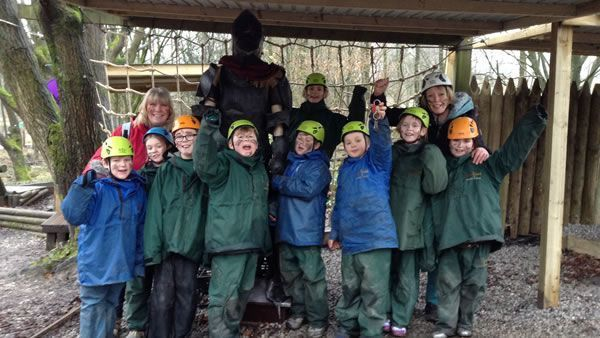 Year 6's residential trip to the Robin Wood centre 13