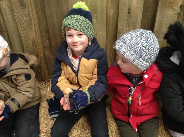 Year One's visit to Smithills Farm - February 2018 5
